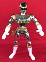 Power Rangers In Space: Zhane the Silver Ranger - Loose Action Figure